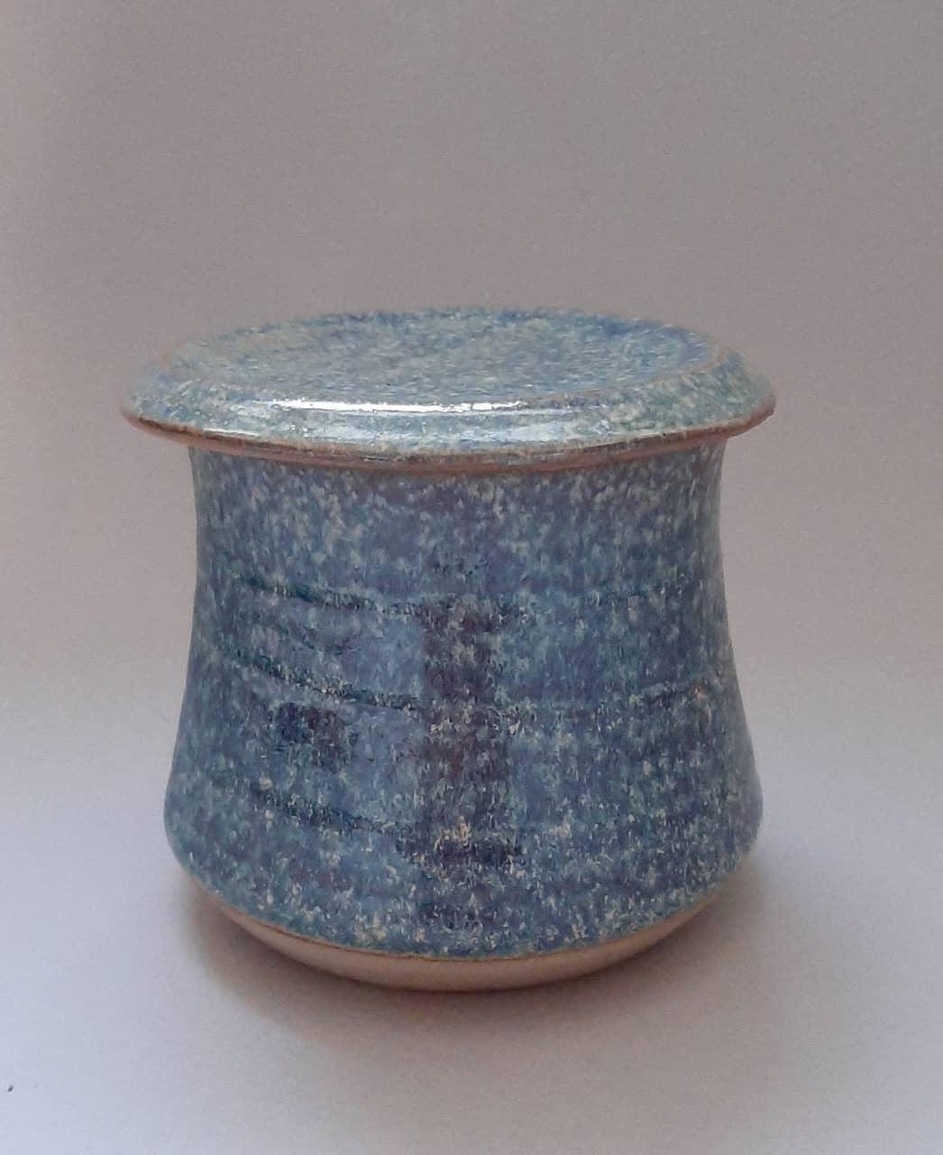 Treasure box blue spiral