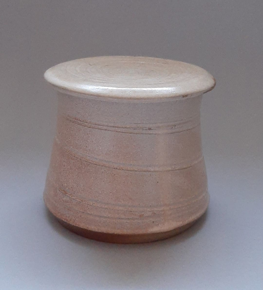 Treasure box white spiral